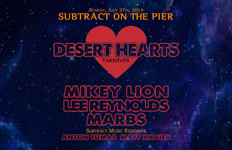 Subtract On The Pier 002: Desert Hearts