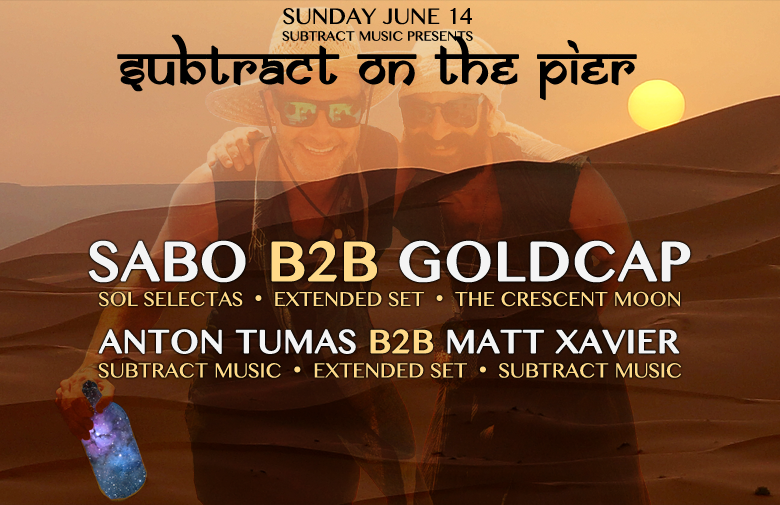 Subtract On The Pier 008: Sabo B2B Goldcap