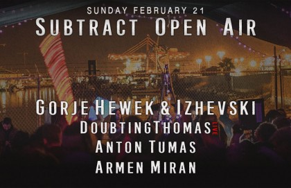Subtract Open Air • Gorje Hewek & Izhevski