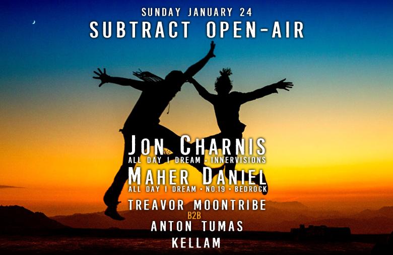 Subtract Open Air | Jon Charnis & Maher Daniel