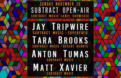 Subtract Open Air | Jay Tripwire