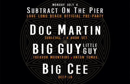 Subtract On The Pier 014: Doc Martin  (Extended Set)