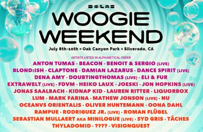 Woogie Weekend x Subtract Afterhours