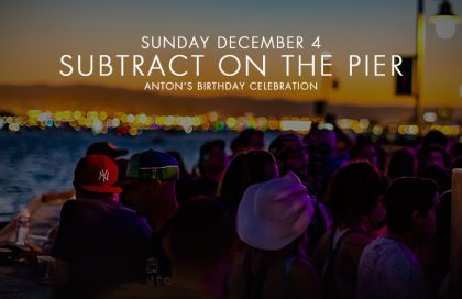 Subtract On The Pier 017: Luca Bacchetti & BIG GUY little guy