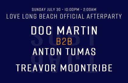 Love Long Beach Official Afterparty