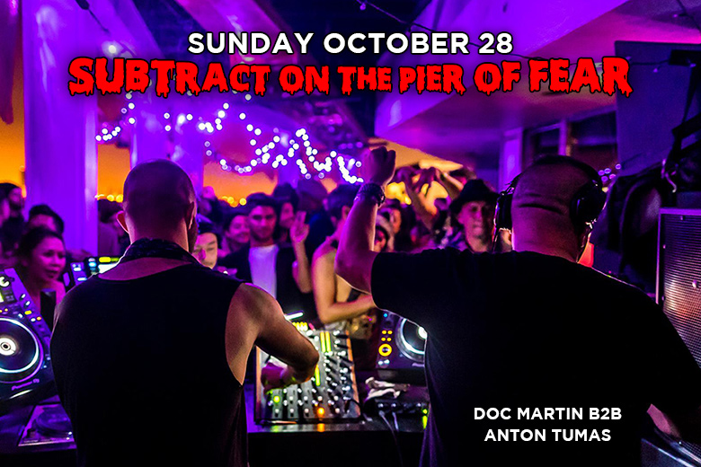 Subtract On The Pier Of Fear: Doc Martin B2B Anton Tumas