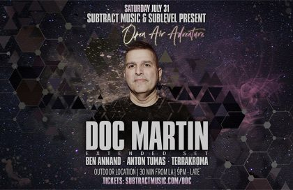 Subtract & Sublevel Open Air w/ Doc Martin (on sale 6/27/21)