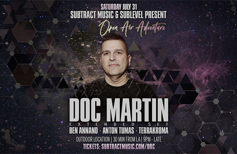 Subtract & Sublevel Open Air | Doc Martin